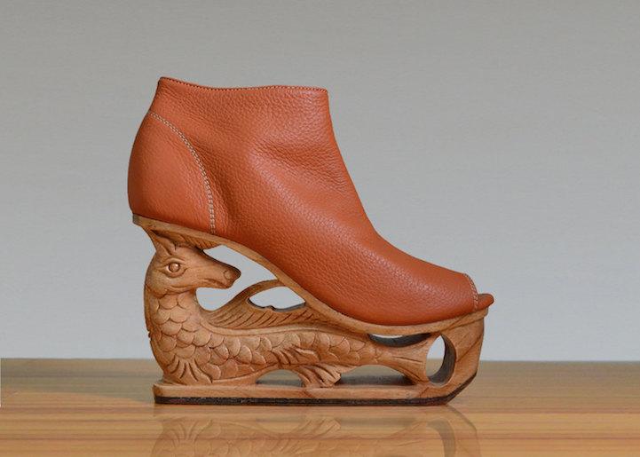 zapatos de mujer detalle fauna