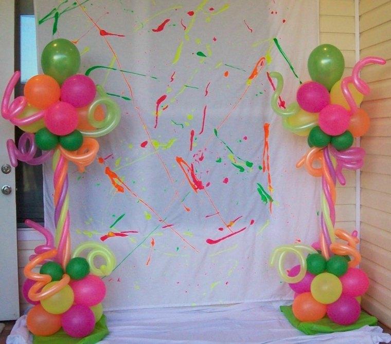 estupendas ideas para adornar con globos