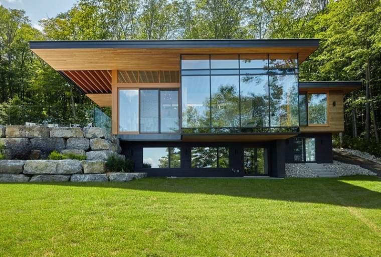 acabados madera roca exteriores