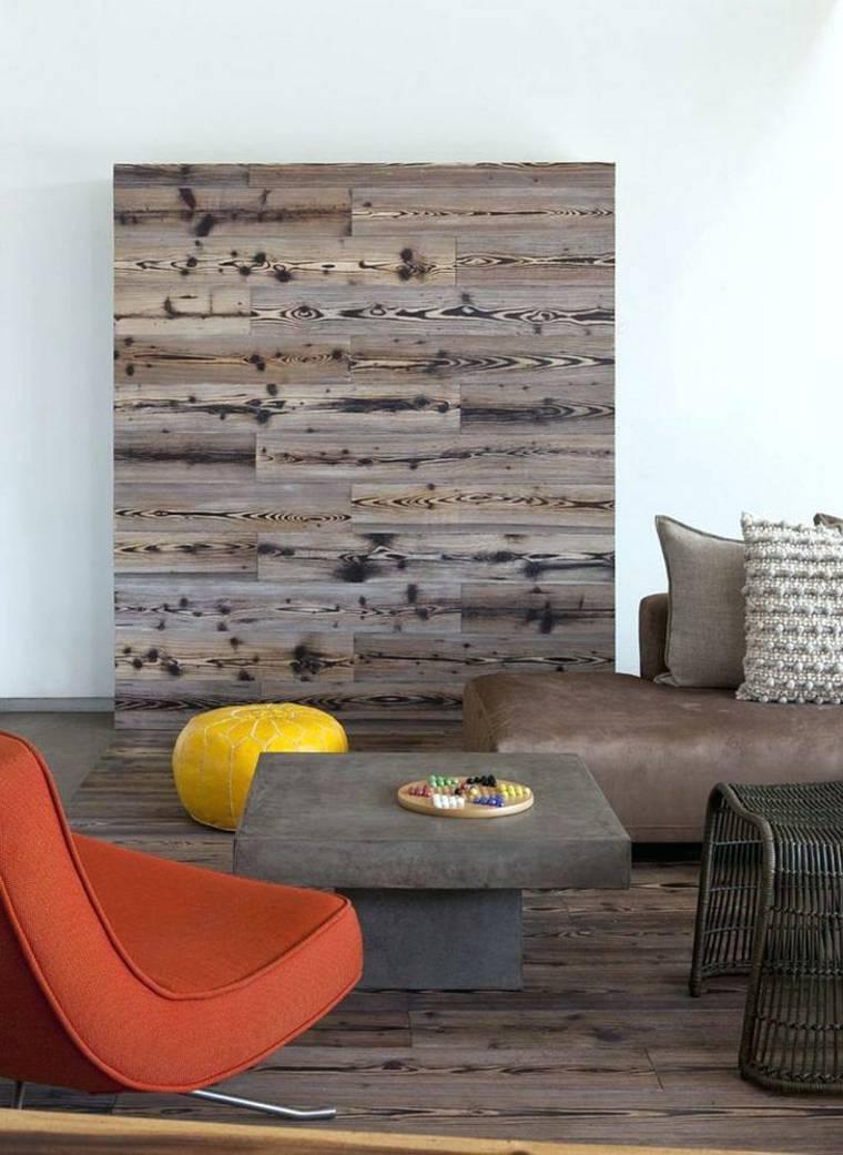 sala estar madera