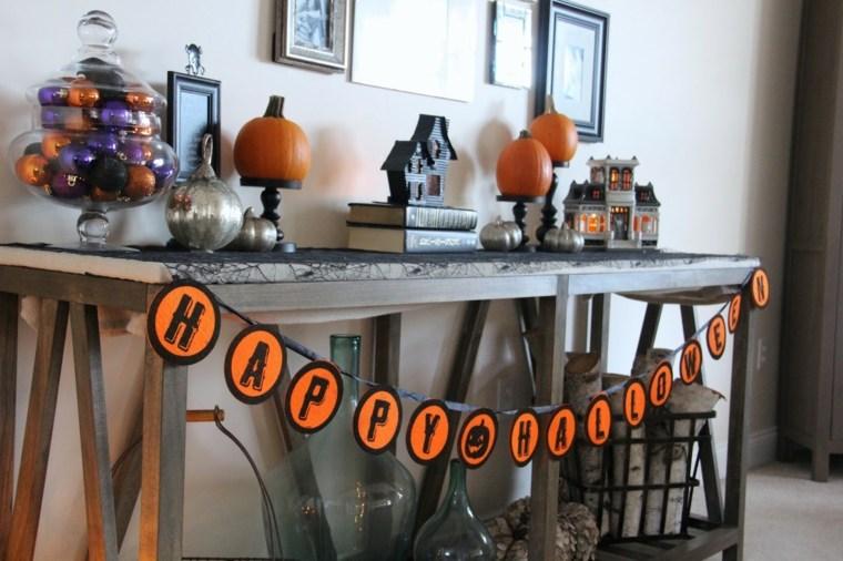 adornos de halloween-decorar-entrada