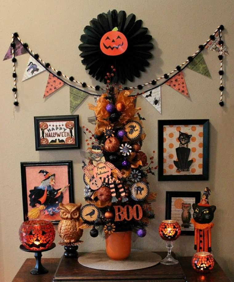 arreglos para halloween-decorar-recibidor