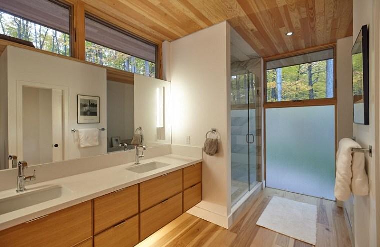 baño-moderno-decorado-madera