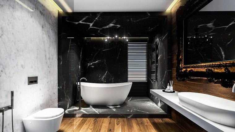 bano-marmol-negro-opciones-diseno-estilo-moderno