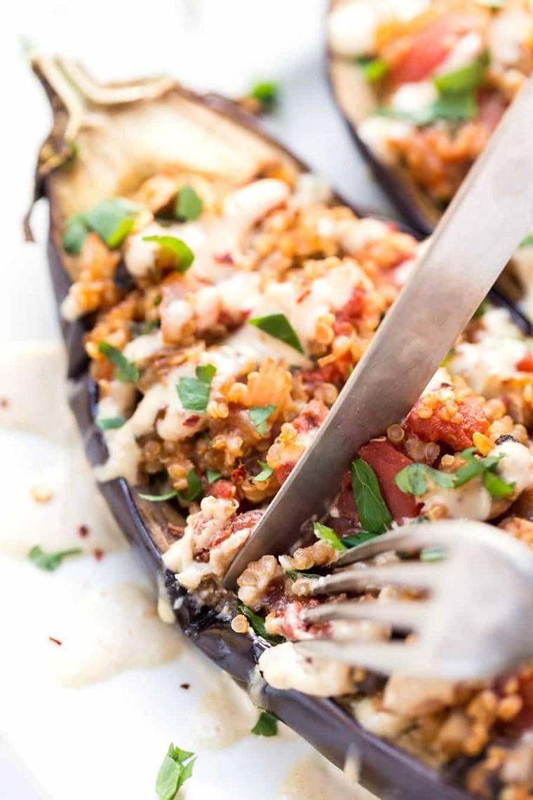 berenjenas-rellanas-quinoa-comida-ideas