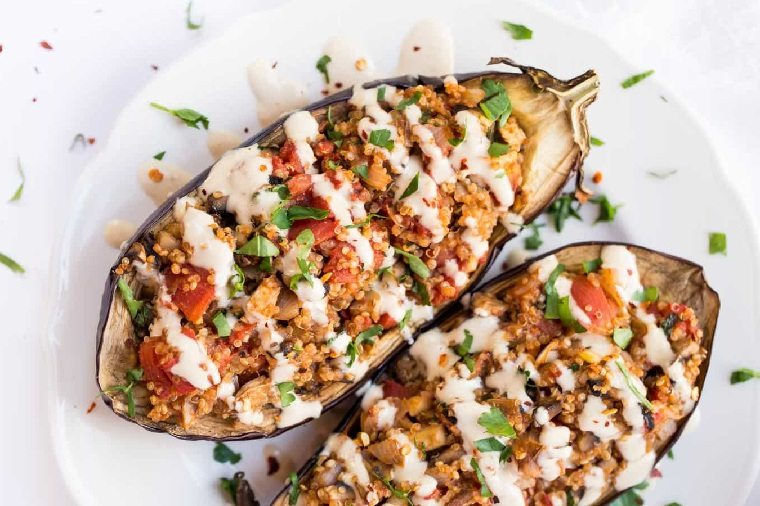 berenjenas-rellanas-quinoa-opciones