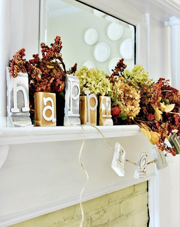 Velas decoradas con con letras