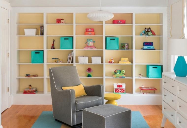 cómo decorar una habitación almacenamiento