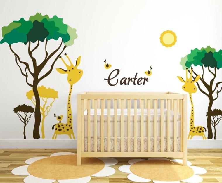 cómo decorar una habitación para-bebé