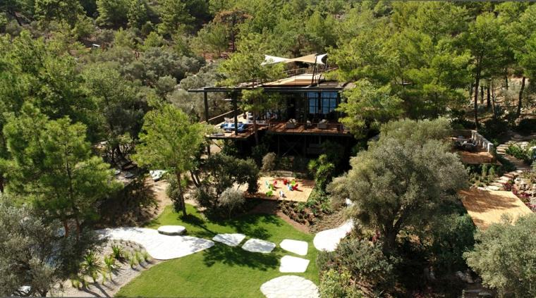 La casa club Bodrum Demirbuku Houses