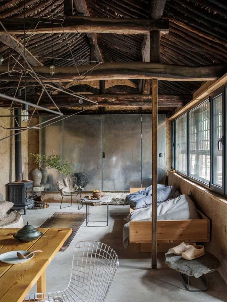 casas rurales-china-diseno-madera-ideas