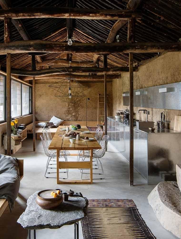 casas-rurales-china-diseno-mesa-madera