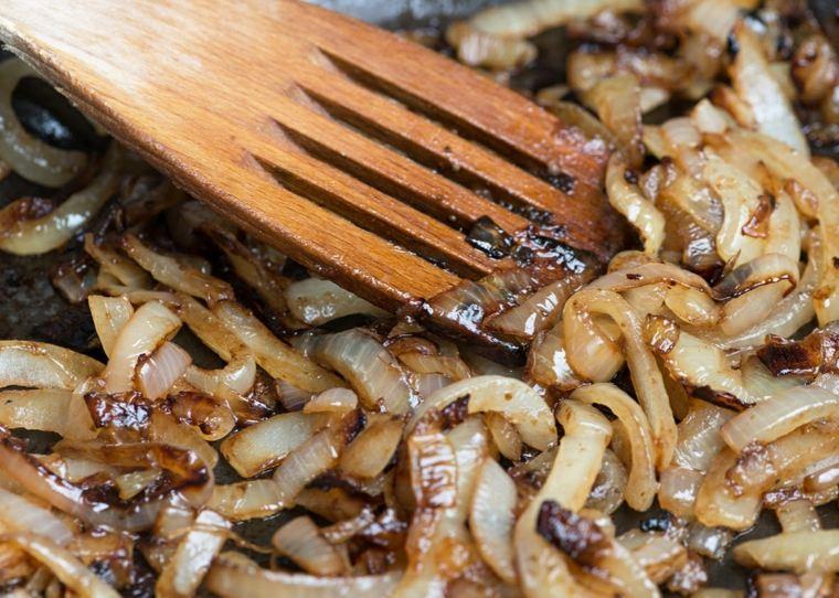 cebolla caramelizada-preparacion-casera