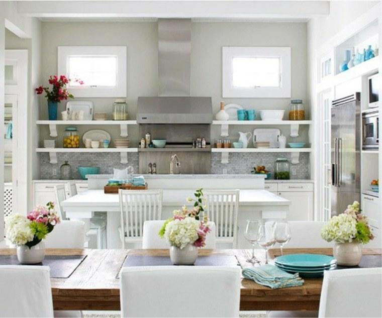 cocina americana-interiores-modernos