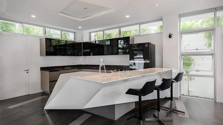 cocinas modernas con isla-diseno-zubu-design-associates