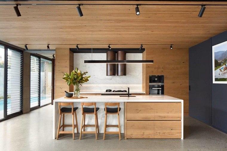 cocinas modernas con isla-finnis-architects