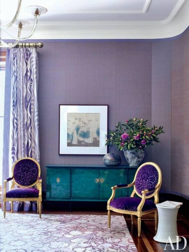 combinaciones de colores púrpura