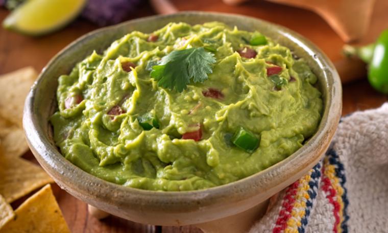 Receta de guacamole - Cómo evitar que el aguacate se vuelva de color marrón