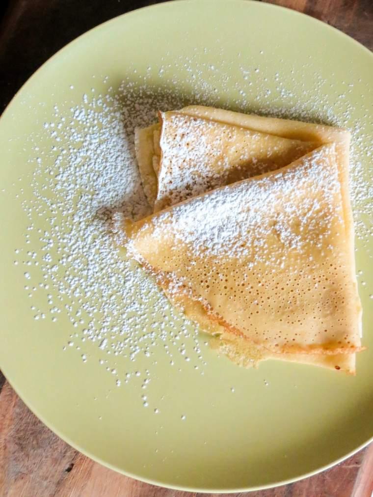 tortitas desayuno azucar