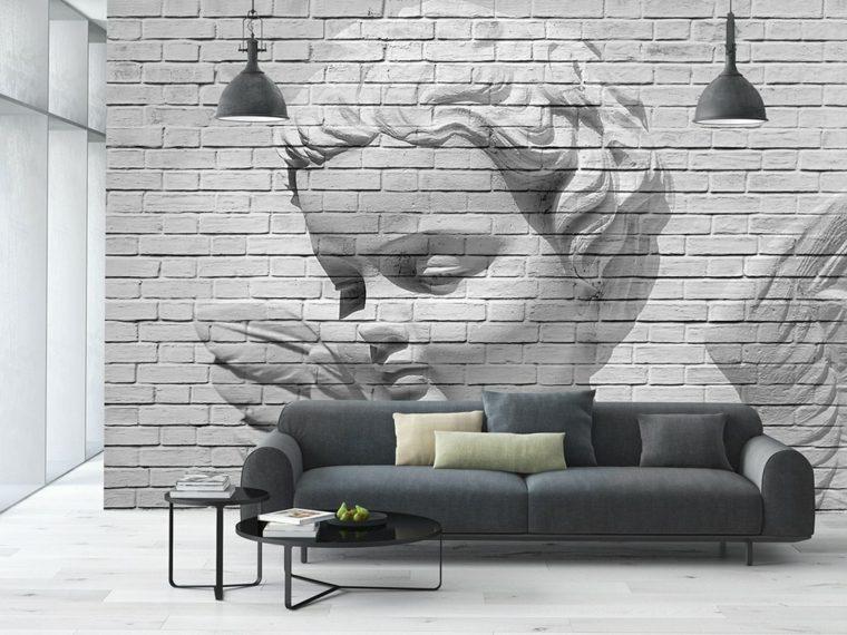 decoracion de interiores-salas-paredes