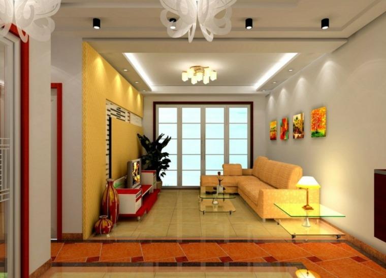 decoracion de salas pequenas-luz