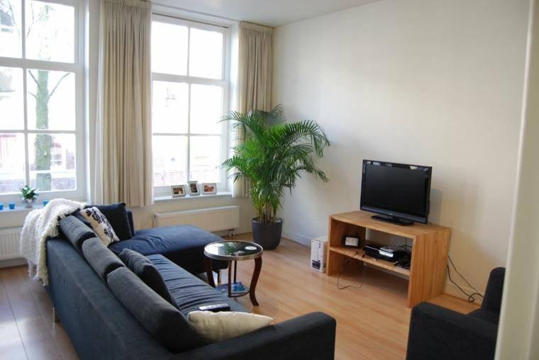 decoracion de salas pequenas-muebles