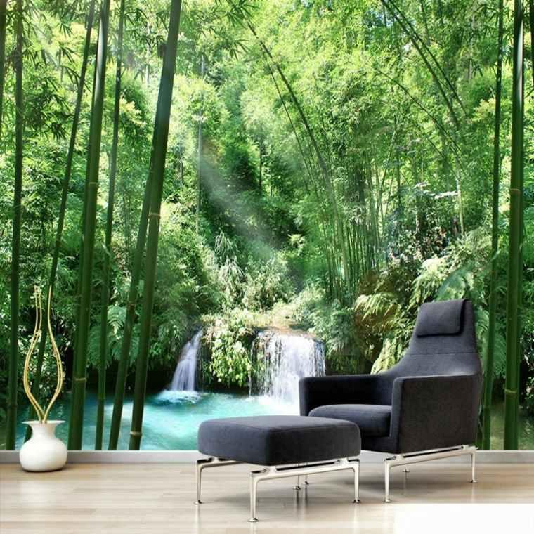 decoracion interior-paisaje-verde