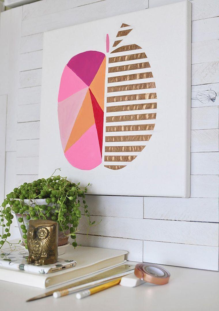 decoración interiores-acogedores-decorar-pared