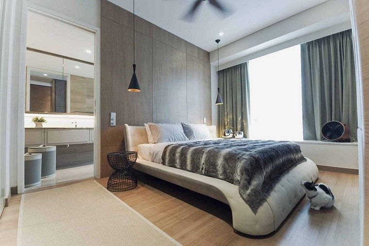 decoración interiores-acogedores-dormitorio-moderno