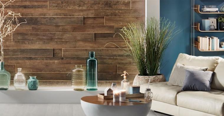 decoracion salas-paredes-madera