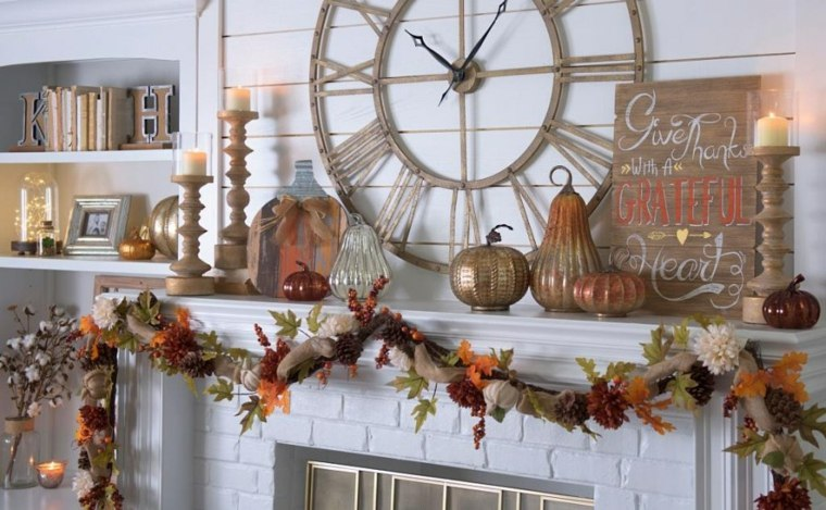 ideas para decorar chimenea
