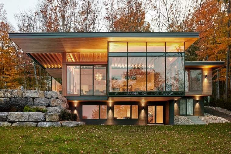 detalles luces exterior casa