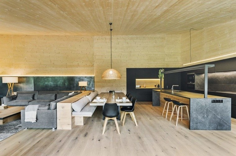 diseño de interiores salasDom-Arquitectura