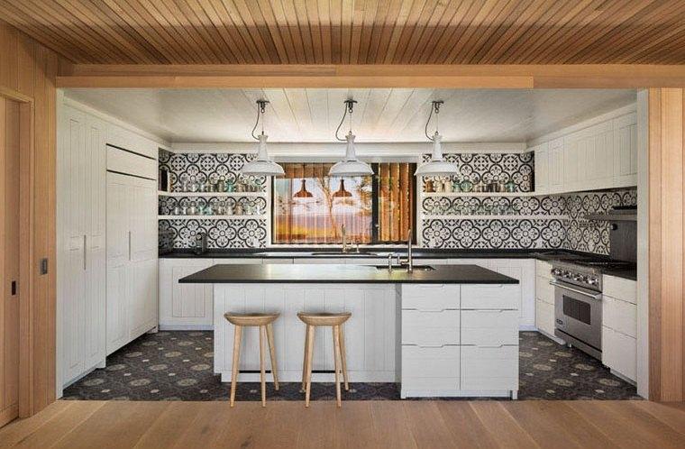 disenos-de-casas-modernas-opciones-cocina-isla