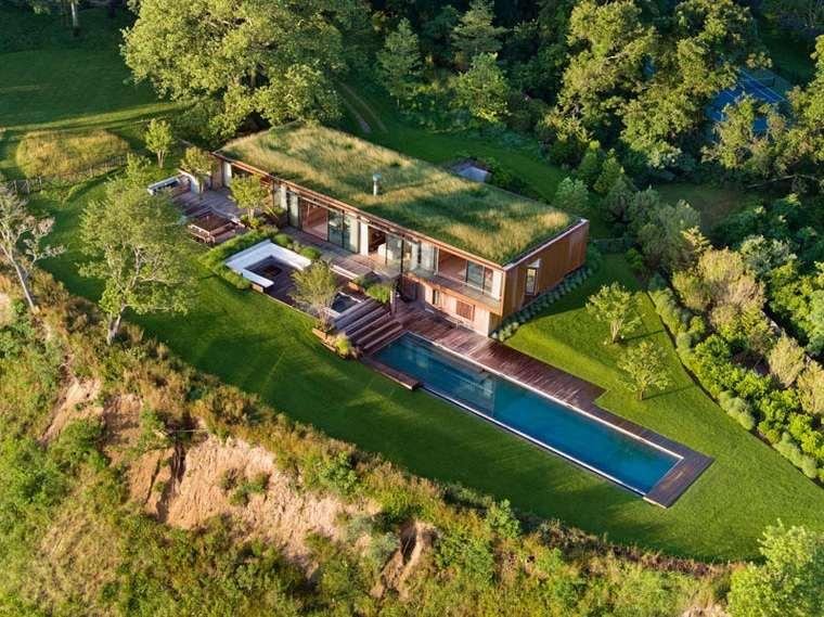 diseños de casas modernas-opciones-costa-ideas