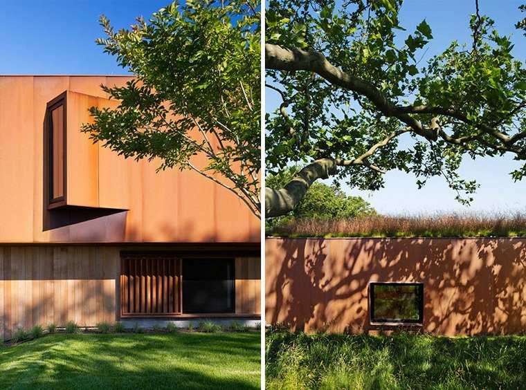 diseños de casas modernas-opciones-fachada
