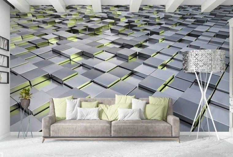 disenos de salas modernas-paredes