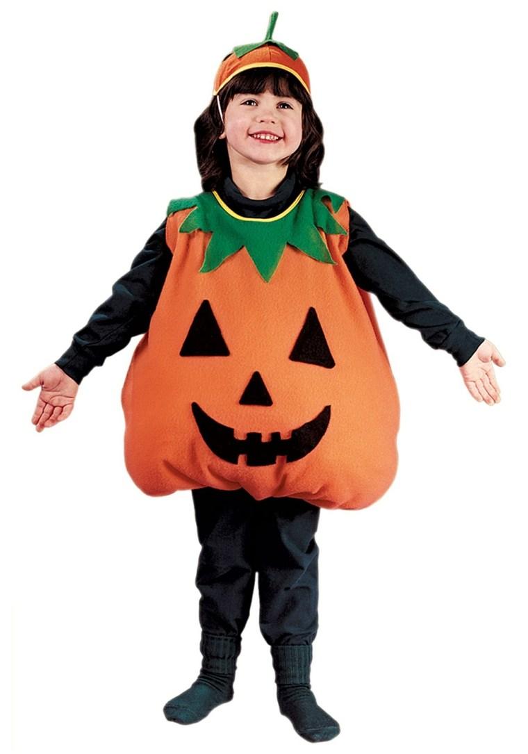 disfraces de halloween ninos-calabaza