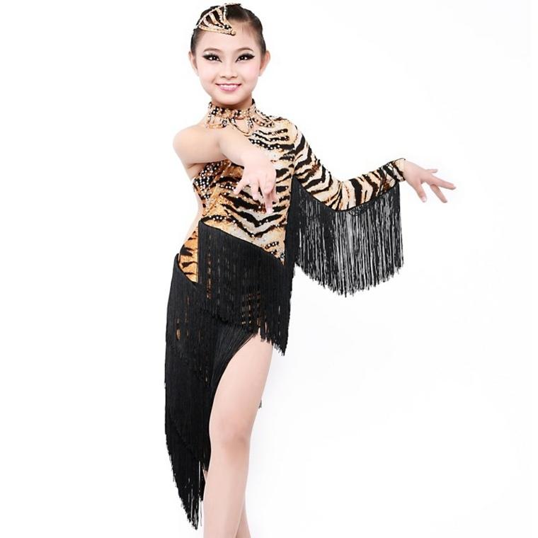 disfraces infantiles de halloween-bailarina-latina