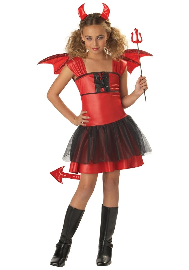 disfraces para ninas-halloween-diabla