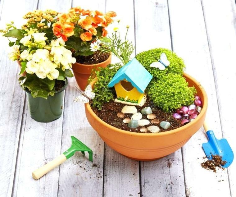Hacer un jardín en miniatura
