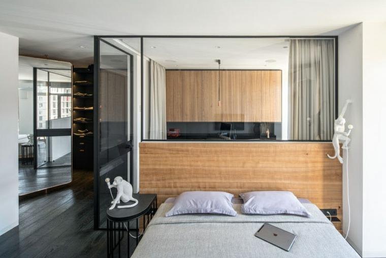 dormitorio-madera-variados-tonos