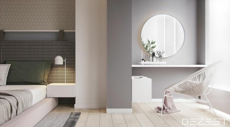 espejos modernos-redondos-decorar