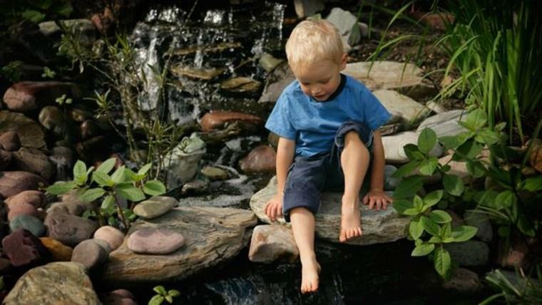 ir a un estanque