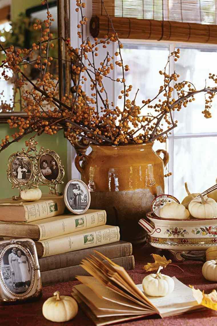 Fotos antiguas con marcos vintage como pieza central para los tesoros del otoño