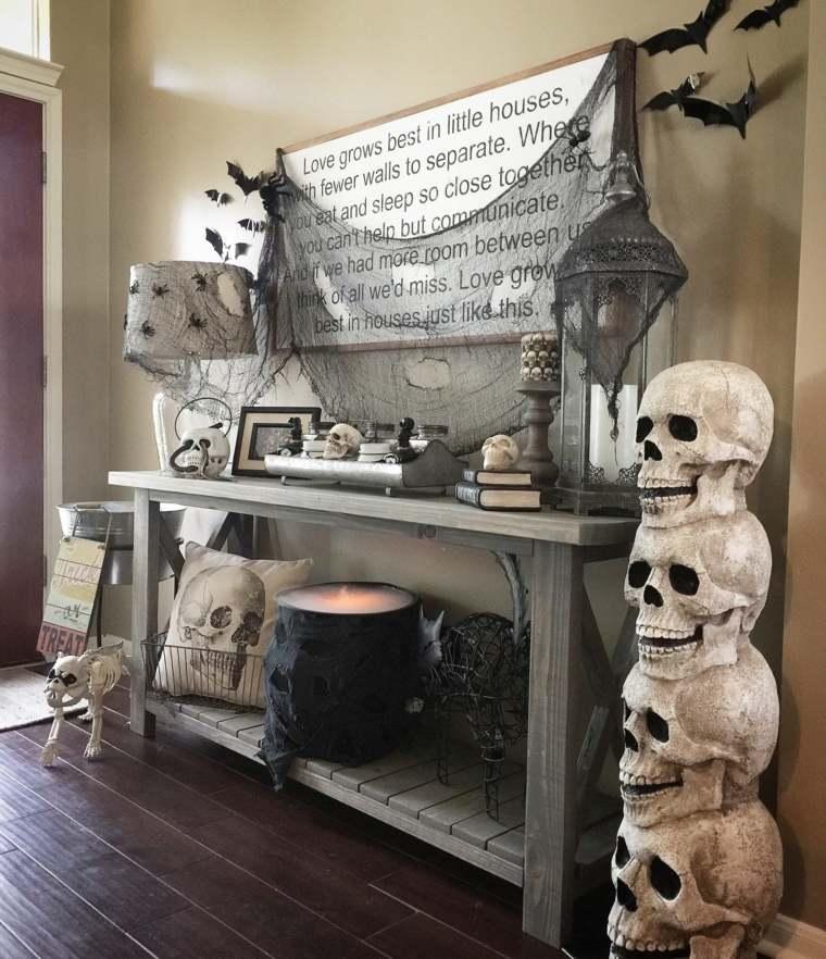 fantasmas de halloween-decorar-calaveras