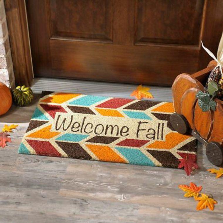 Accesorios transforman el porche para el otoño
