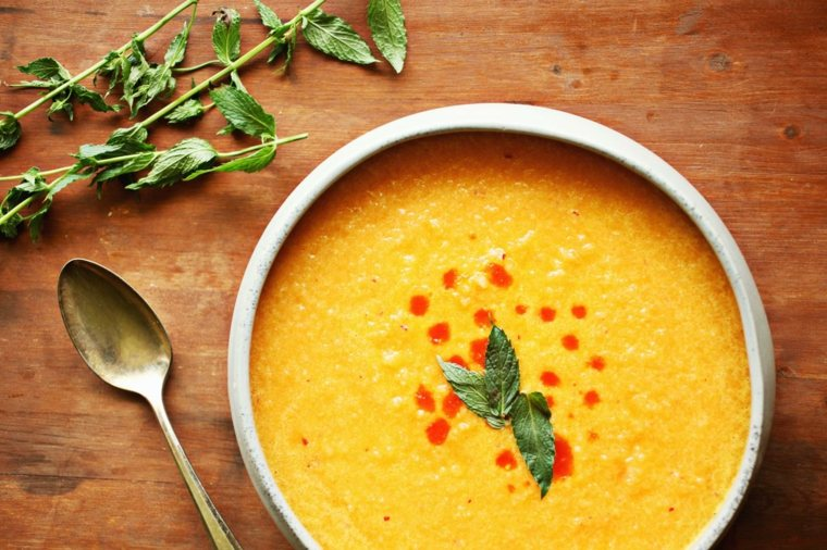 gazpacho receta original-facil