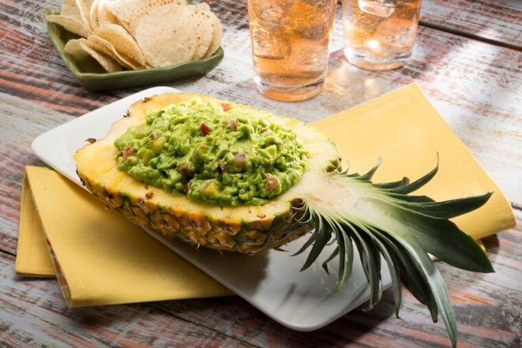 piña guacamole