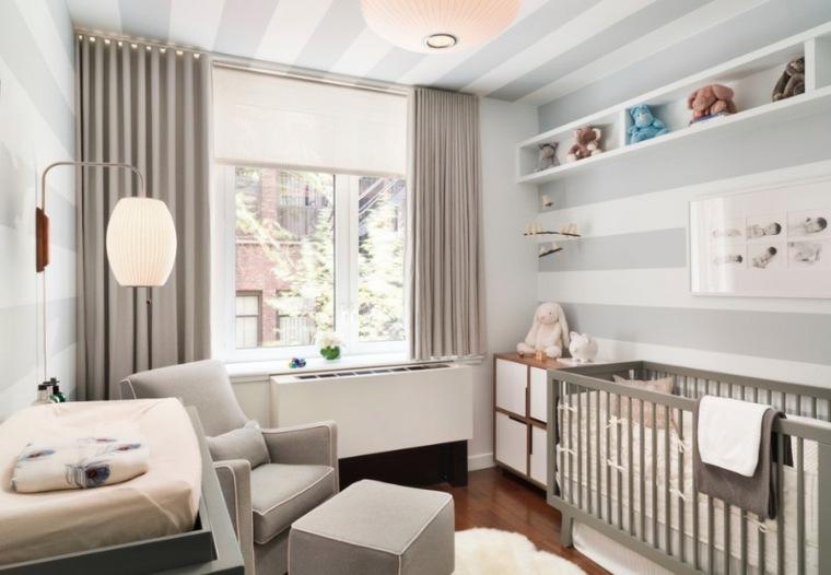 habitación-de-bebé-color-gris